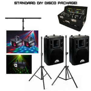 Standard DIY Disco Package (Hire Cost per Day)